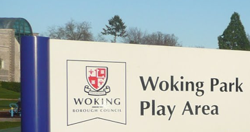 Woking Park Play Area